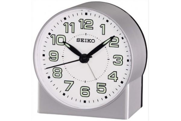 Интерьерные часы QHE084SN  фирмы - Seiko