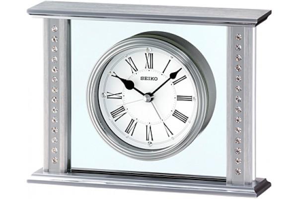 Интерьерные часы QHE048SN  фирмы - Seiko