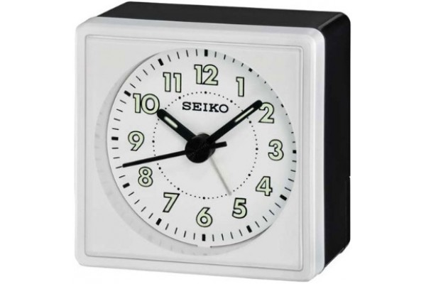 Интерьерные часы QHE083RN  фирмы - Seiko