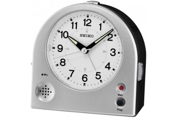 Интерьерные часы QHE081SN  фирмы - Seiko