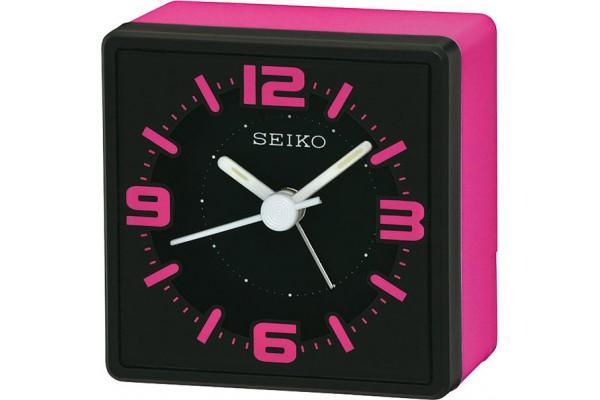 Интерьерные часы QHE091PN  фирмы - Seiko