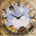 Настенные часы 11273W-B  фирмы -